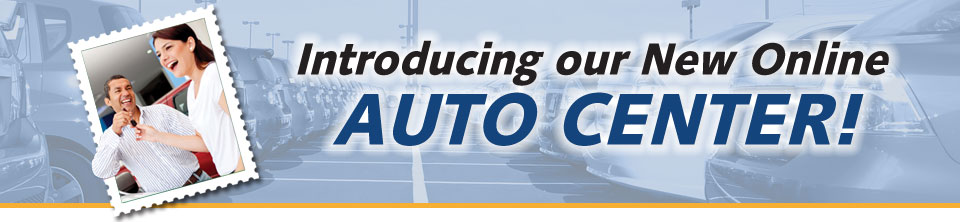 Introducing our new online auto center