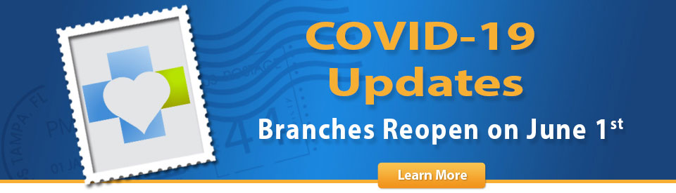 important notice on covid-19, branches open june 1st